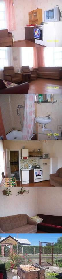Фото частного дома на Косе